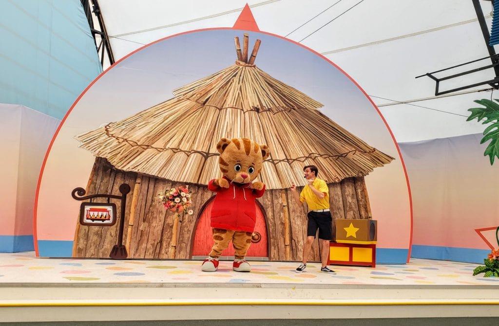 Daniel Tiger at Storyland