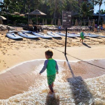 The Happiest Toddlers in Hawaii: Disney Aulani
