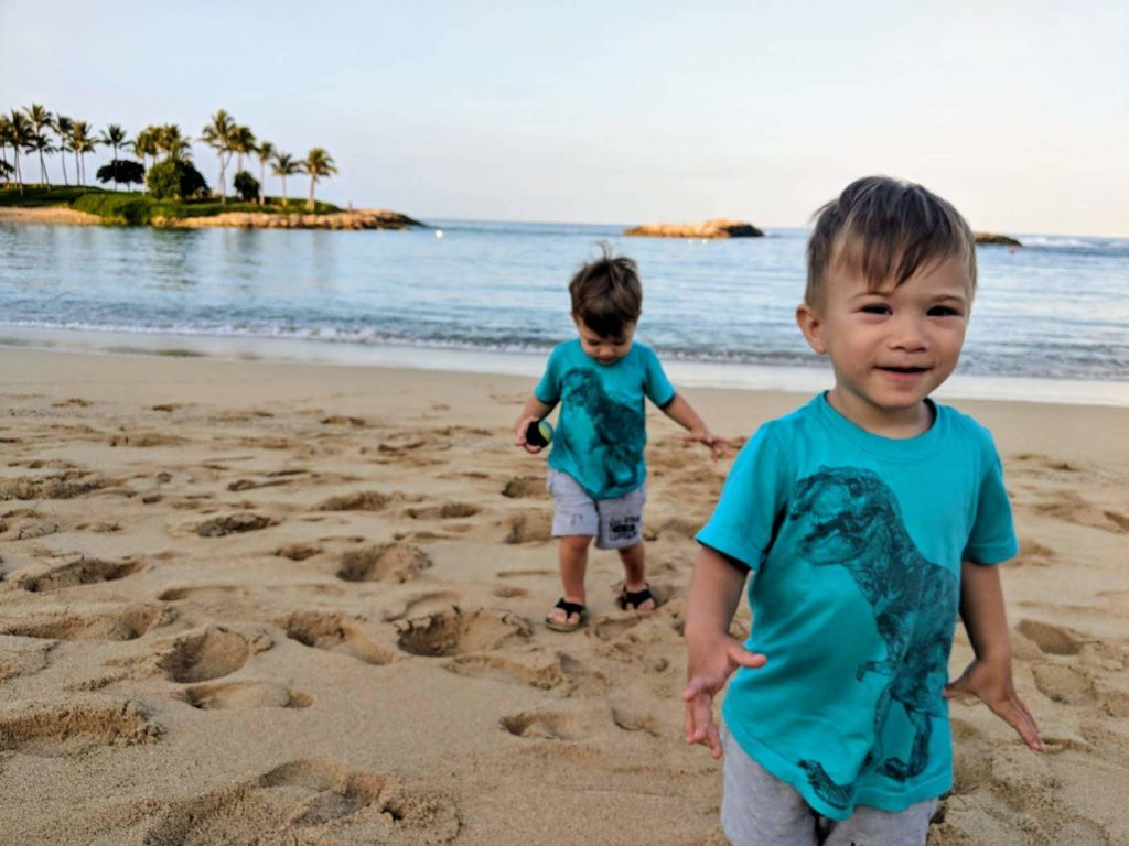 Aulani with twin toddlers