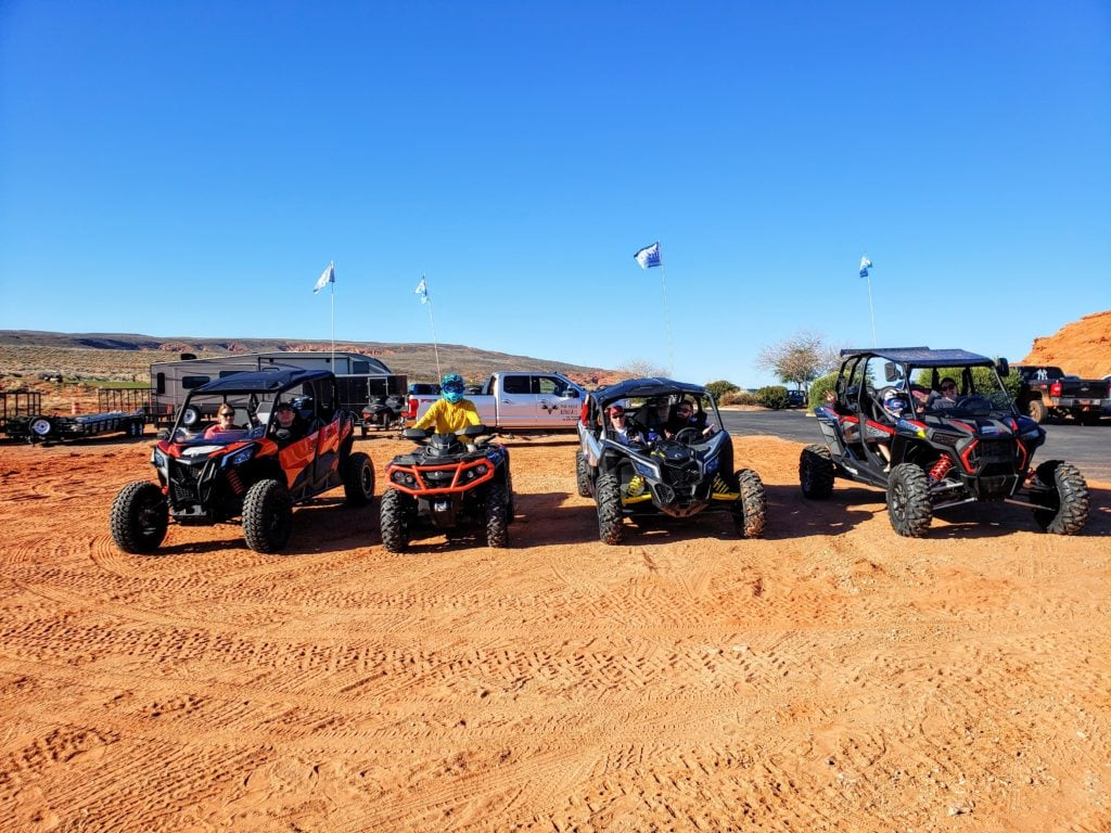 Renting UTVs from Mad Moose Rentals at Sand Hollow