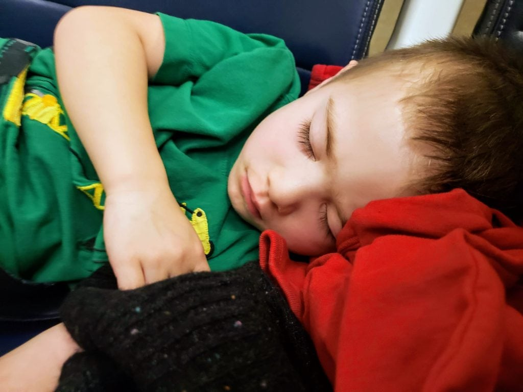 my preschooler napped once!