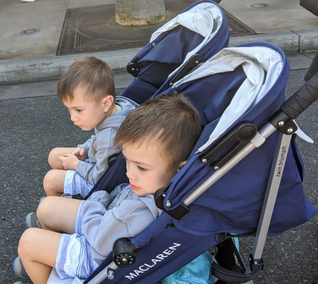 Sometimes preschoolers need strollers too