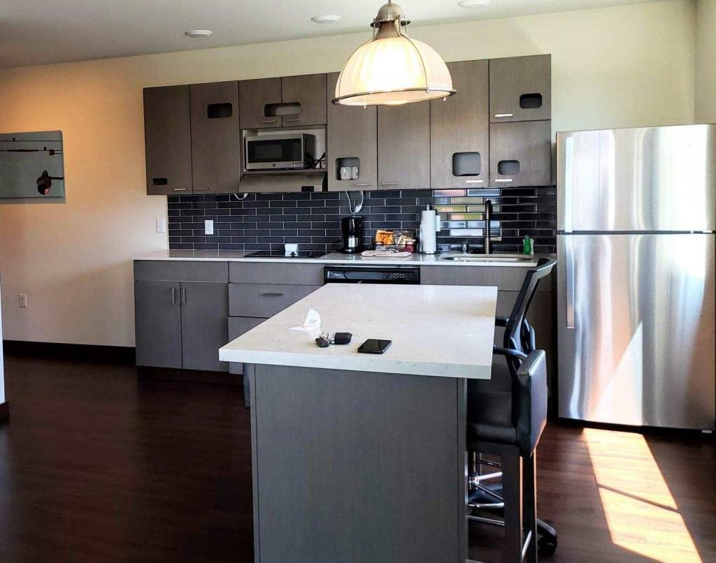 Hyatt House Seattle Center 1 bedroom suite, kitchen