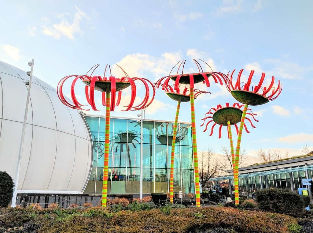CHihuly Museum from the outside