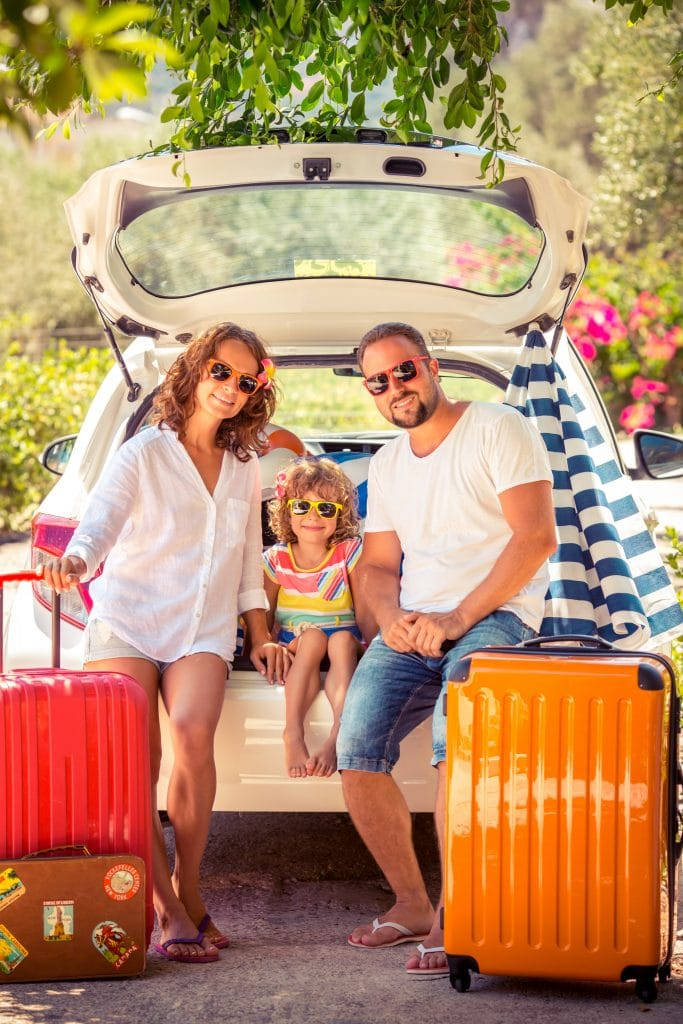 Road tripping, rather than flying, can help save money on family travel